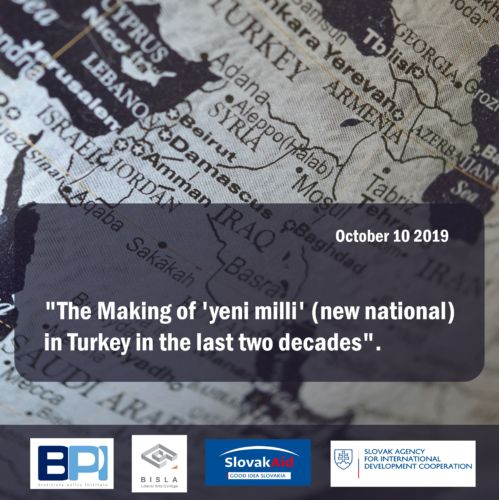 Speaker Series: The Making of ´Yeni Milli´ (New National) in Turkey in the Last Two Decades